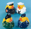 ARMED FORCES RUBBER DUCKIES-SET OF 4 (2 SETS OF 4)