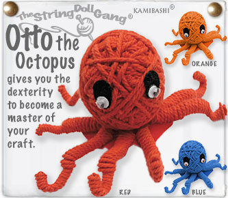 OTTO THE OCTUPUS STRING DOLL