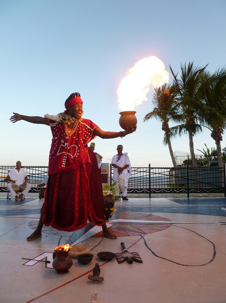 A Traditional African Ceremony to Remember Those Buried at Higgs Beach