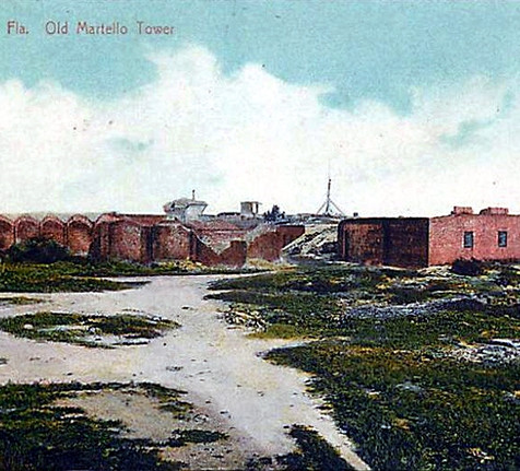 South Beach and the Martello Tower, ca. 1910