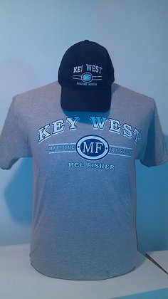 KEY WEST MEL FISHER MUSEUM HAT & TEE COMBO