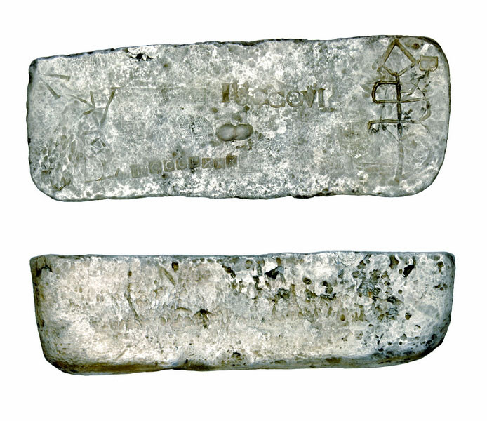 Silver Ingot, Two Views