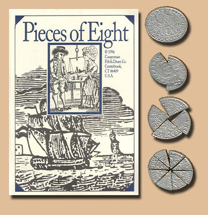 REPLICA PIECES OF EIGHT-Bits Set