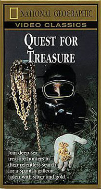 QUEST FOR TREASURE-NATIONAL GEOGRAPHIC  DVD or VHS