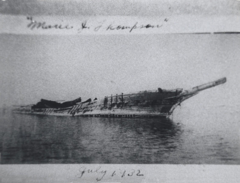The Marie J. Thompson Becomes a Wreck