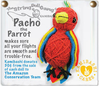 PACHO THE PARROT STRING DOLL