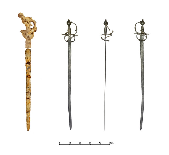 Rapier, Before & After Conservation
