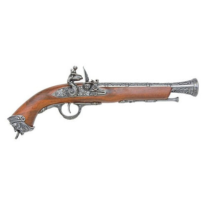 PISTOL: PIRATE GRAY FLINTLOCK