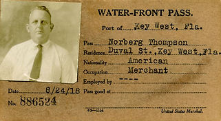 Norberg Thompson's WWI Key West Waterfront Pass.