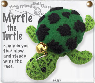 MYRTLE THE TURTLE STRING DOLL