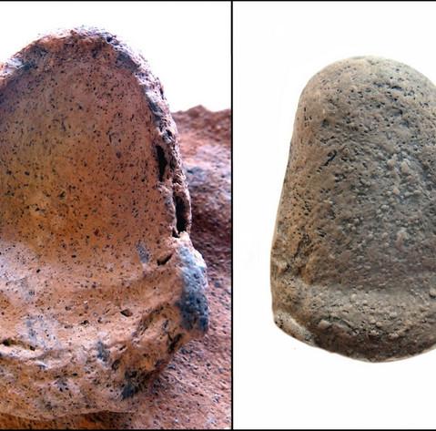 Ceramic Fingerprint Impression & Cast