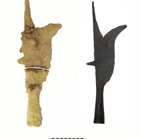 Iron Bill, Before and After Conservation