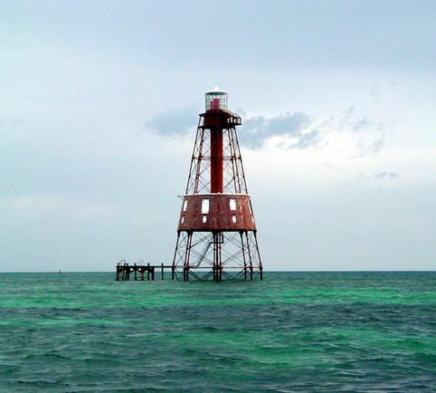 The Original Carysfort Reef Lighthouse