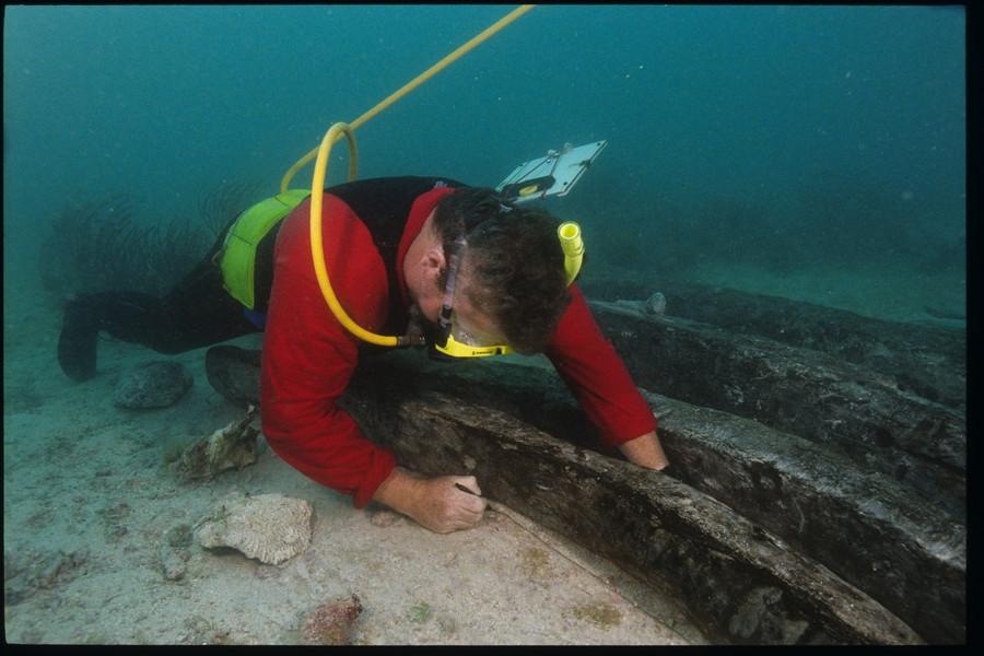 Measuring Futtocks from the Henrietta Marie