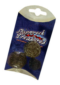 SHIPWRECK TREASURES COINS-3 pack (2 QTY)