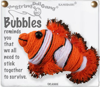 BUBBLES STRING DOLL