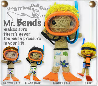 MR BENDS STRING DOLL
