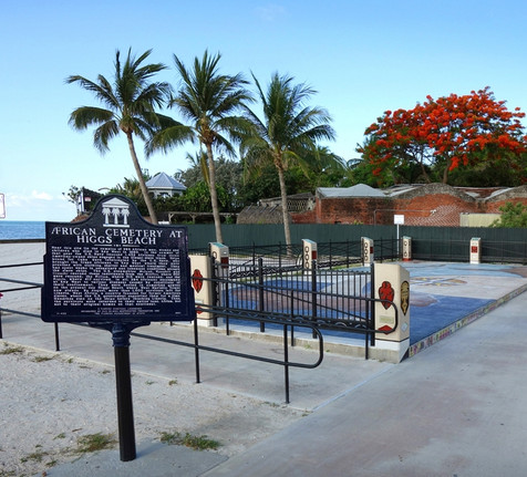 The African Cemetery Memorial at Higgs Beach, Key West