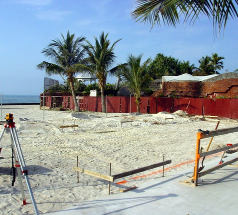 Construction of the African Cemetery Memorial Begins