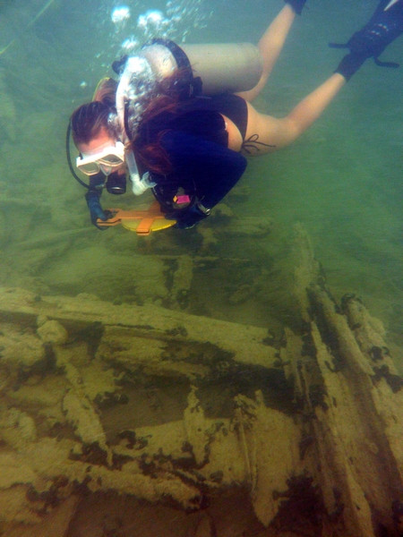 Diving on the Site