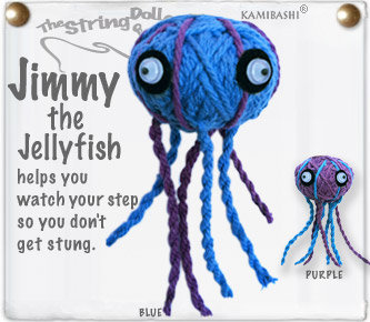 JIMMY THE JELLYFISH STRING DOLL