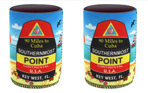 KEY WEST ICONIC CAN KOOZIE  (SET OF 2)