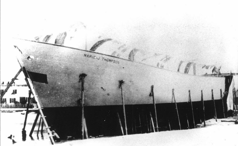The Marie J. Thompson Under Construction