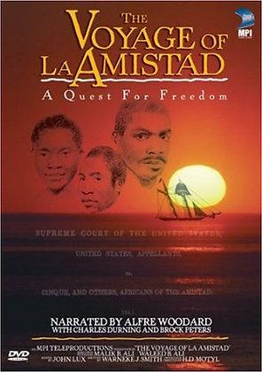 VOYAGE OF LA AMISTAD DVD