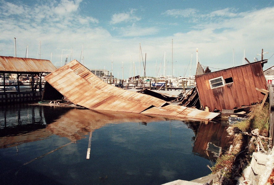 The Key West Turtle Cannery Collapses, 1995