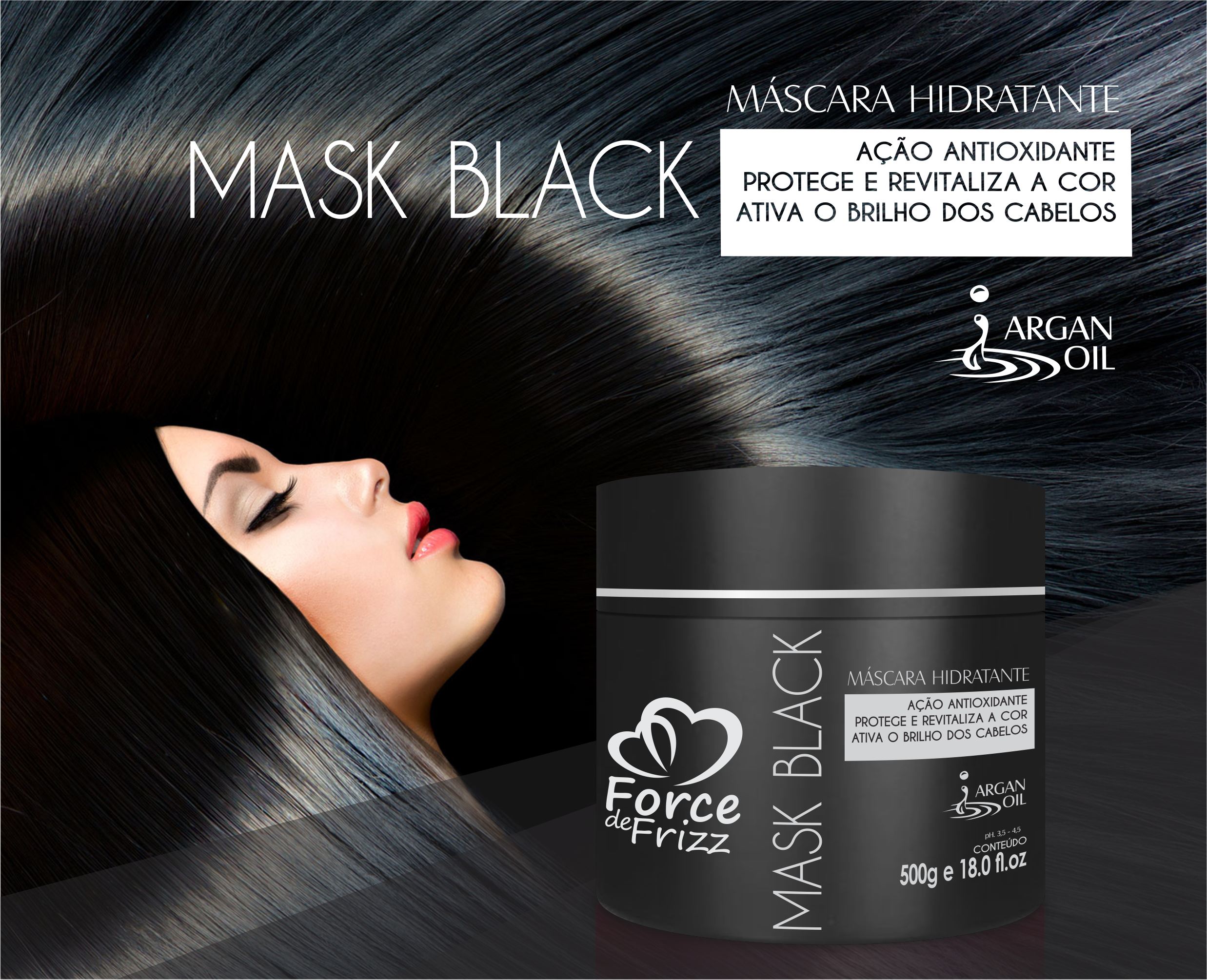 mask black kit