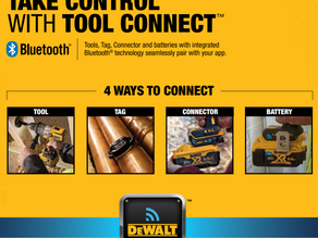Stop Wasting Valuable Time and Money With Tool Connect From DEWALT!