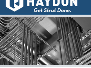 Haydon is Your One-Stop-Shop for all Your H-Strut Metal Framing System Needs