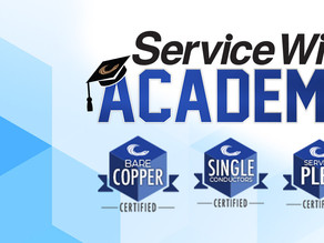 Get Service Wire Certified with Service Wire Academy!