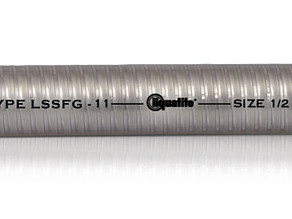 Type LSSFG From Electri-Flex is designed for installations requiring motion, vibration, and bending
