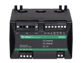 Littelfuse's MP8000 is an Electronic Overload Relay That Provides Advanced Motor Protection