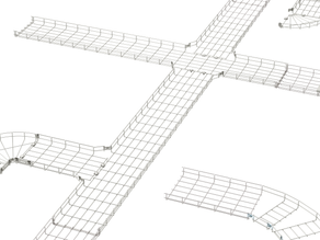 Connect Wire Mesh Cable Tray Faster With Chalfant's GR-Magic Cable Tray!