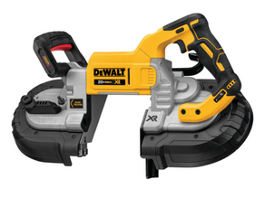 Learn how DEWALT's Dual Switch Band Saws Reduce On-Site Accidents