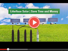 Increase Return on Investment with In-Line Solar Fuses from Littelfuse