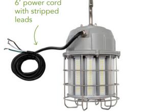 Brighten any jobsite with Light Efficient Design's Temporary Work Site Lights!