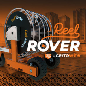 Leave Awkward, Heavy Reels in the Past With the ReelRover From Cerrowire