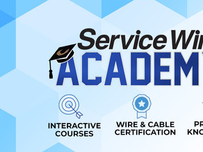 Build Your Wire and Cable Knowledge With Service Wire Academy!