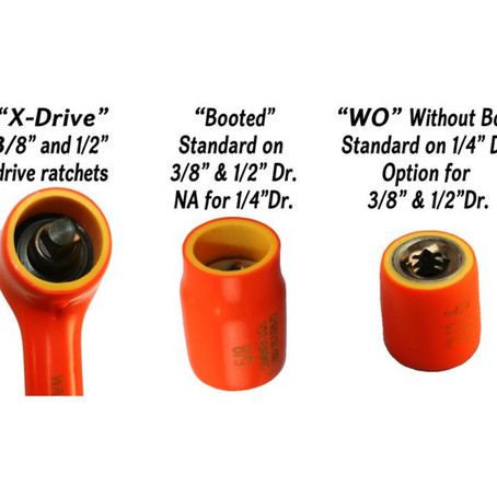 Cementex offers a Full Range of Double Insulated Sockets and Socket Sets!
