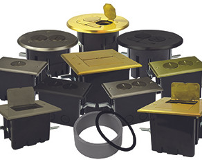 Allied Moulded has a Variety of Floor Box Assemblies for Residential and Commercial Applications