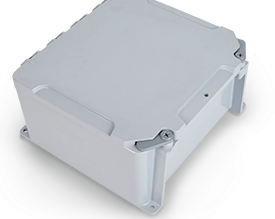 Kraloy's Hinged Cover JBox Works With Existing PVC Conduit Runs and Opens More Than 200°!
