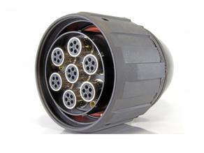 Moltec's GM48 Modular Circular Connectors has Seven Codable Module Chambers!