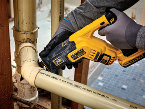 Cutting in Tight Spots has Never Been Easier thanks to DEWALT's Compact Reciprocating Saw