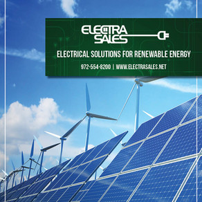Check out Electra Sales' Recently Updated Renewable Energy Vertical Line Card!
