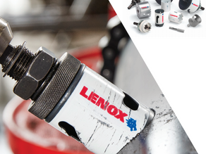 Bi-Metal Speed Slot Hole Saws From LENOX Have a 50% Longer Life and are Twice as Durable