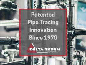 Delta-Therm's Pipe Tracing Systems Efficiently Protects our Buildings, Transportation, and More!
