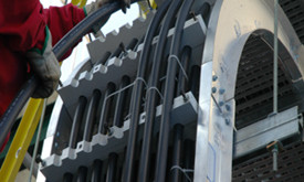 MP Husky's Cable Bus Systems Provide Cost and Labor Savings